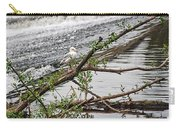 Bird On A Weir Carry-all Pouch