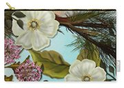 Bird On Pine Branch Carry-all Pouch