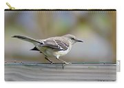 Bird On The Fence Carry-all Pouch