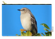 Bird On Tree Top Carry-all Pouch