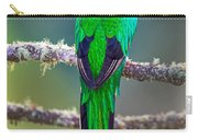 Bird Perching On A Branch, Savegre Carry-all Pouch
