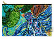 Bird Song Carry-all Pouch by Genevieve Esson