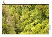 Bird View Of Lush Green Sub-tropical Nz Rainforest Carry-all Pouch