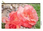 Birdbath Roses Carry-all Pouch