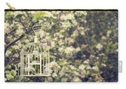 Birdcage In Blossom Carry-all Pouch