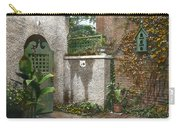 Birdhouse And Gate Carry-all Pouch by Terry Reynoldson