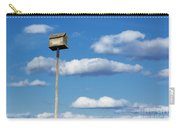 Birdhouse Blue Carry-all Pouch