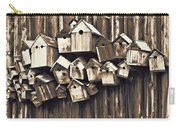 Birdhouse Condominium Carry-all Pouch