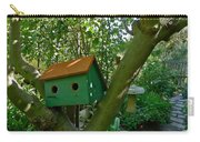 Birdhouse In A Tree Carry-all Pouch