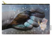 Birdie Paintress Carry-all Pouch by Barbara Orenya