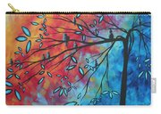 Birds And Blossoms By Madart Carry-all Pouch
