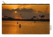 Birds And Bouys Sunrise Carry-all Pouch