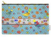 Birds And Flowers For Children Carry-all Pouch