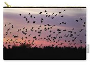 Birds At Sunrise Carry-all Pouch