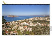 Birds Eye View Of Crete Greece Carry-all Pouch