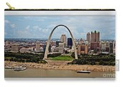Bird's Eye View Of St.louis  Carry-all Pouch