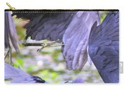Birds - Fighting - Herons Carry-all Pouch