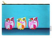 Birds In Blue  Carry-all Pouch