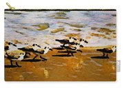 Birds In The Surf Carry-all Pouch