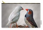 Birds Interacting Carry-all Pouch