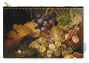 Birds Nest Butterfly And Cherries Carry-all Pouch