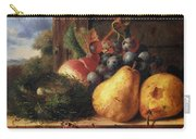 Birds Nest Butterfly And Fruit Carry-all Pouch