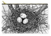 Birds Nest Carry-all Pouch