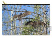 Birds Of A Feather Flock Together Carry-all Pouch