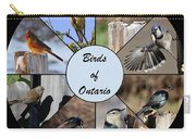 Birds Of Ontario Carry-all Pouch