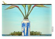 Birds Of Paradise Over Fiji Carry-all Pouch