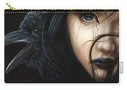 Birds Of Prey- Raven Carry-all Pouch
