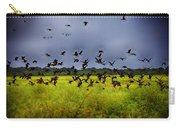 Birds Of The Wetlands V11 Carry-all Pouch