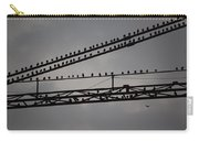 Birds On Crane Carry-all Pouch
