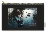 Birds On The Mill Pond Carry-all Pouch