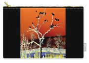 Birds On Tree Carry-all Pouch