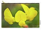 Birdsfoot Trefoil In The Meadows Carry-all Pouch by Heiko Koehrer-Wagner