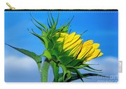 Birth Of A Sunflower By Kaye Menner Carry-all Pouch