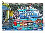 Bisbee Arizona Art Car Carry-all Pouch