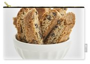 Biscotti Cookies In Bowl Carry-all Pouch