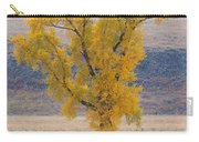 Bison And Cottonwood Carry-all Pouch