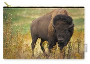 Bison Buffalo Carry-all Pouch
