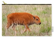 Bison Calf Grand Teton National Park Carry-all Pouch