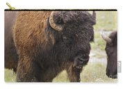 Bison From Yellowstone Carry-all Pouch