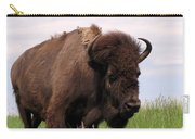 Bison On The Prairie Carry-all Pouch