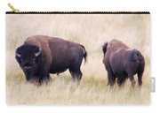 Bison Painting Carry-all Pouch