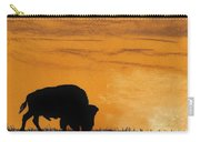 Bison Sunset Carry-all Pouch