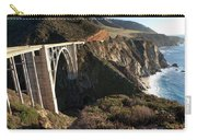 Bixby Bridge Afternoon Carry-all Pouch by Joe Schofield