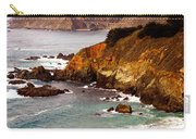 Bixby Bridge Of Big Sur California Carry-all Pouch by Barbara Snyder