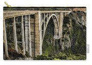 Bixby Creek Bridge Carry-all Pouch