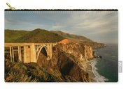 Bixby Creek Bridge In Big Sur Carry-all Pouch
